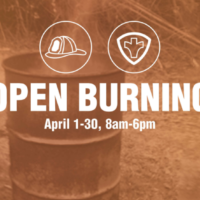 Open burning permitted in St. Joseph through the end of April, officials urge cautiont