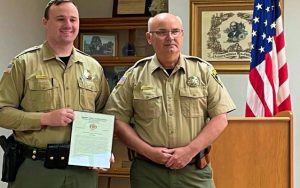 Nodaway County Deputy Receives Commendation for Saving Teen's Life