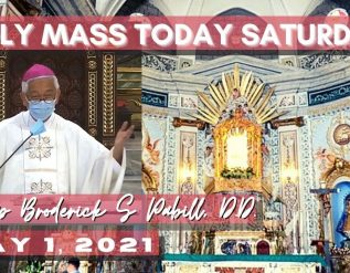 holy-mass-with-bishop-broderick-pabillo-may-1-2021-saturday-feast-st-joseph-the-worker