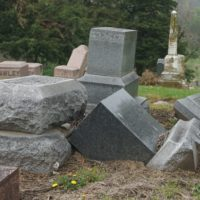 St. Joseph's oldest cemetery, desecrated by vandals, receiving renewed attention
