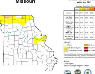 first-signs-of-severe-drought-identified-for-missouri-in-new-drought-map