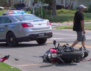 man-taken-to-hospital-after-motorcycle-vs-car-crash